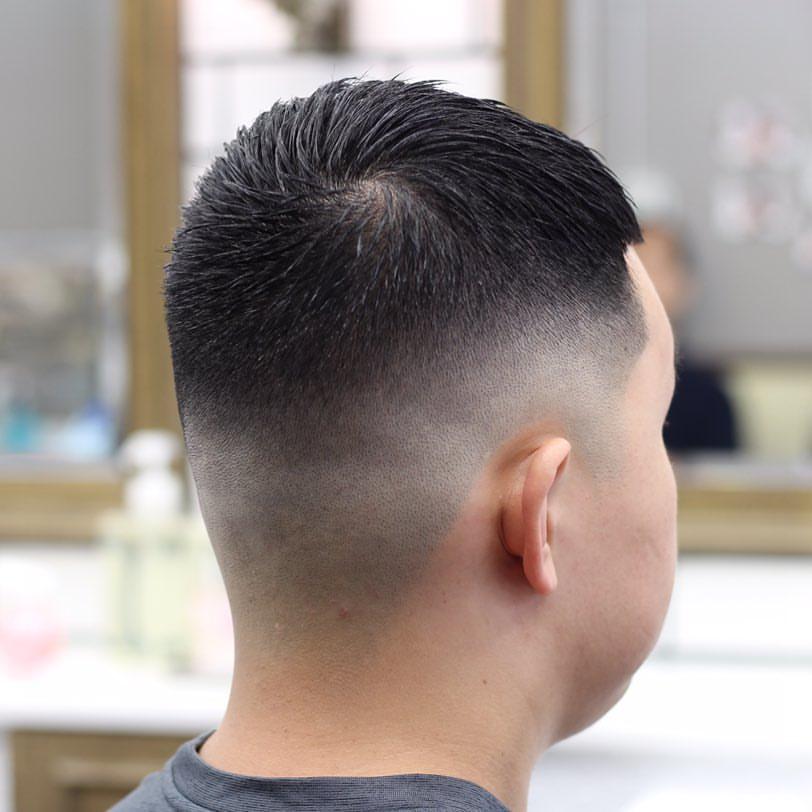 2019年,这样的男生发型很流行