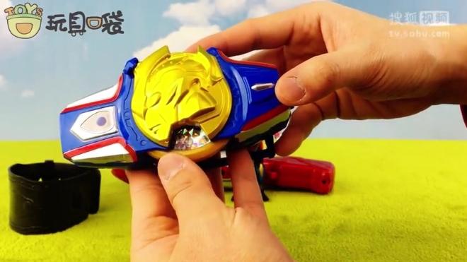 银河维克特利奥特曼之奥特融合手镯 玩具口袋