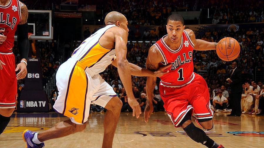 谁是NBA第一步突破最快的球员?巅峰罗斯直接过人,麦迪速度最快