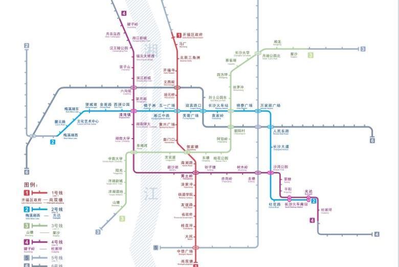 长沙新建地铁线路,预计2020年通车,共途经27个站点