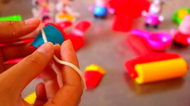 彩泥制作做美味食物 北美玩具橡皮泥彩泥制作玩具