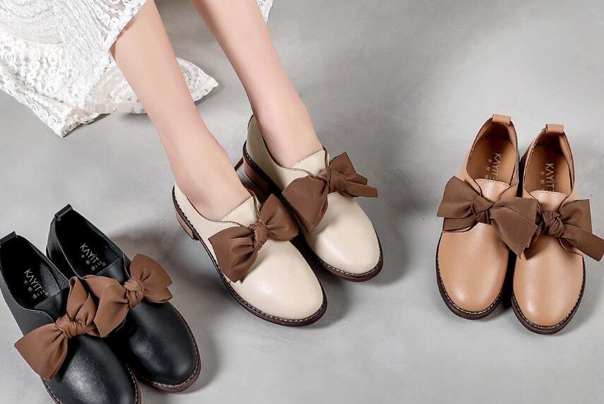春季休闲小皮鞋走起来 你和甜味时尚有个约会
