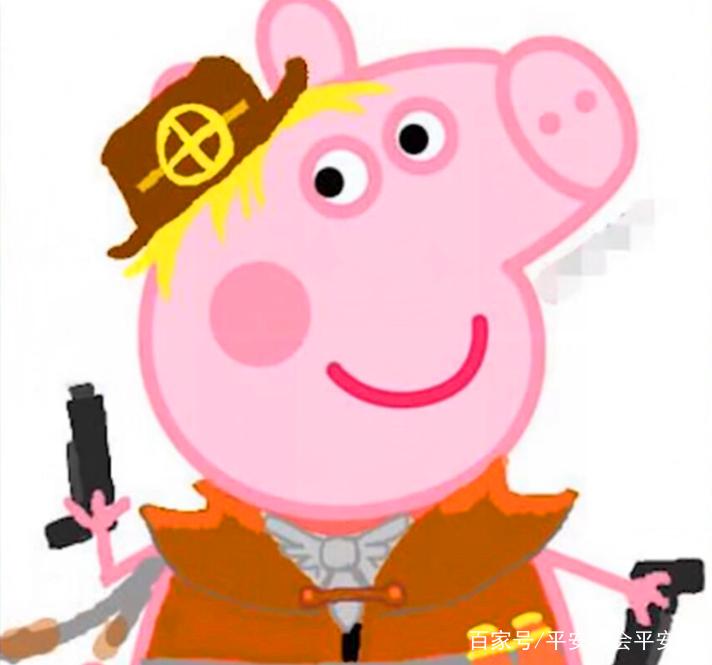 王者荣耀:小猪佩奇版英雄,程咬金变得可爱,裴擒虎最丑!