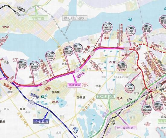 江苏喜迎新高铁,沿途共设立8个站点,看看有你的家乡吗?