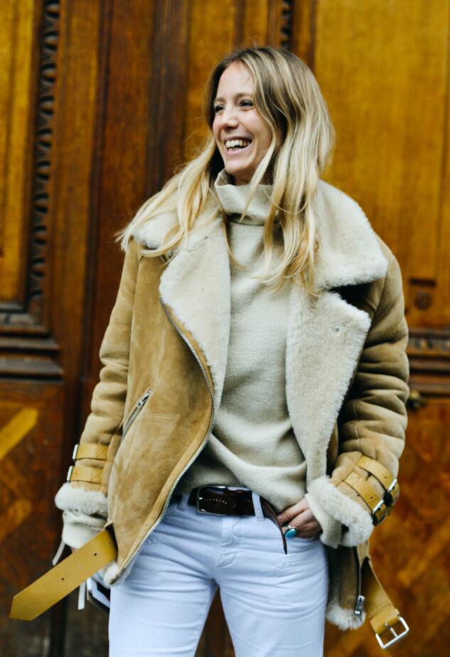 这些时尚达人表面风光,实际上三件外套穿一整个冬天!