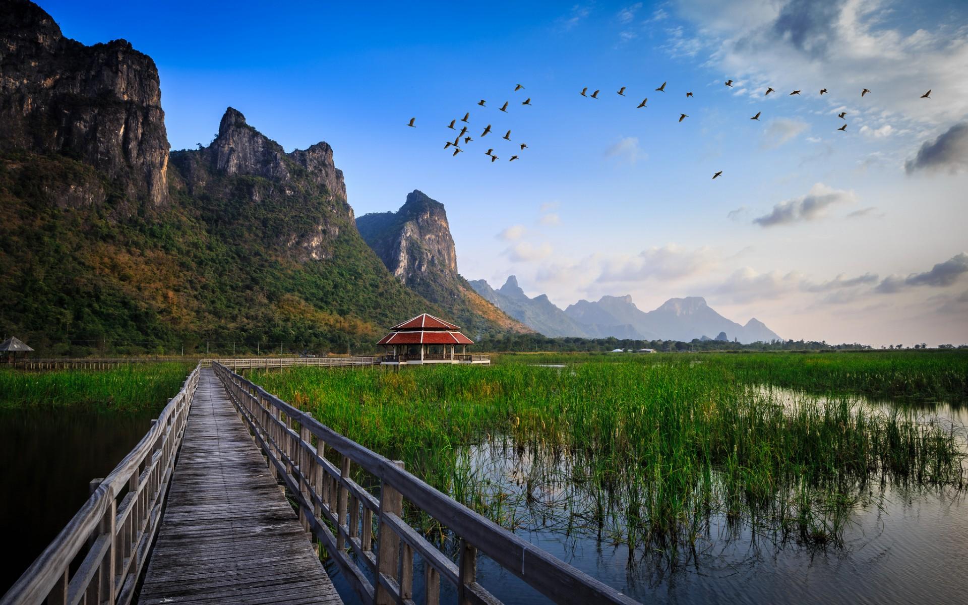 泰国因他农山国家公园,高清壁纸,风景电脑高清壁纸