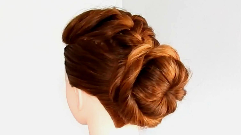 看一遍就会的优雅盘发发型,手残党都秒会,30岁女人的福利图片