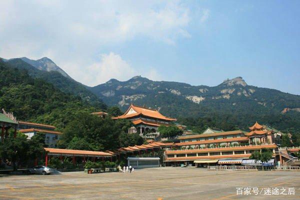 """广东的美之惠州罗浮山风景区,被誉为""""岭南第一山"""""""