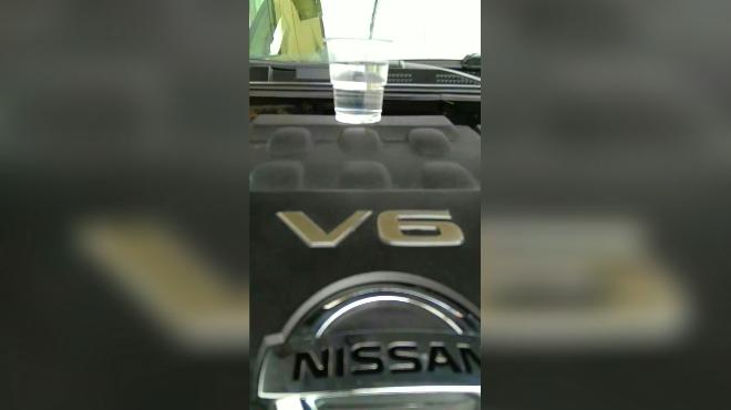 05款老天籁17多万公里发动机测试