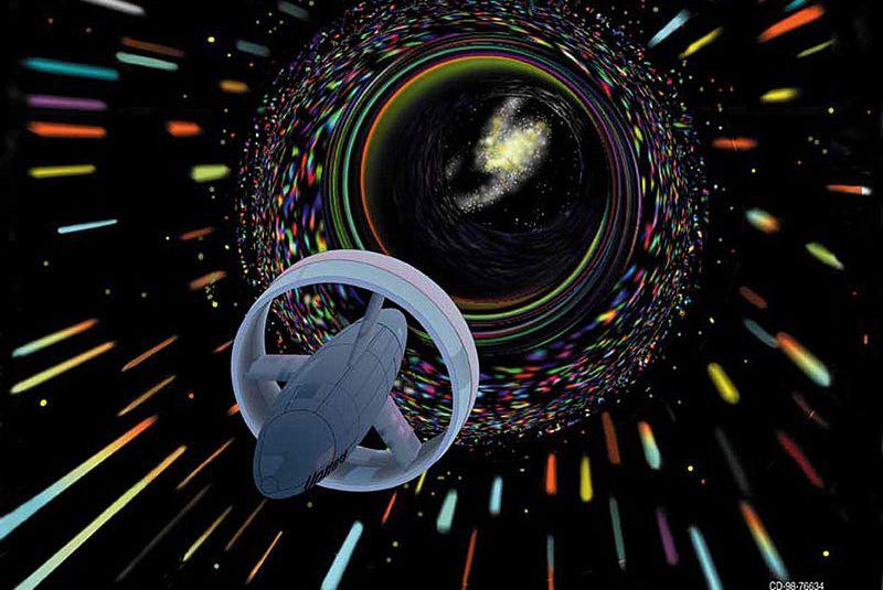 科学家称外星文明可能向黑洞发射激光!