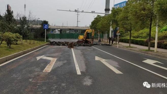 今天起,株洲河西湘芸路东半幅半封闭施工20天