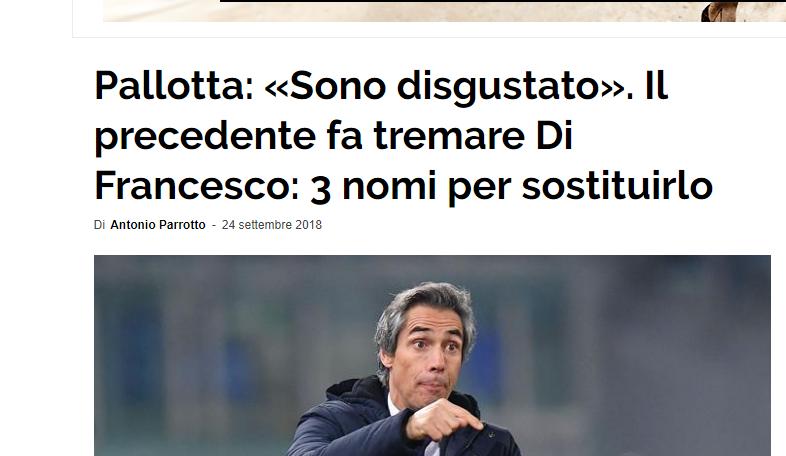 亚博:开季战绩欠安, 罗马起换帅之心盯上保罗- 索萨