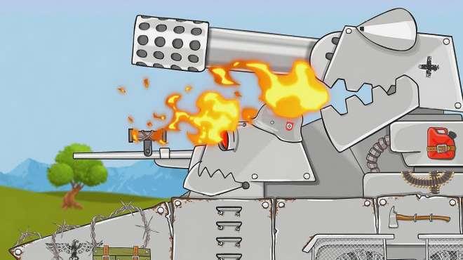 坦克世界搞笑动画:德系鼬鼠这是和谁玩耍呢