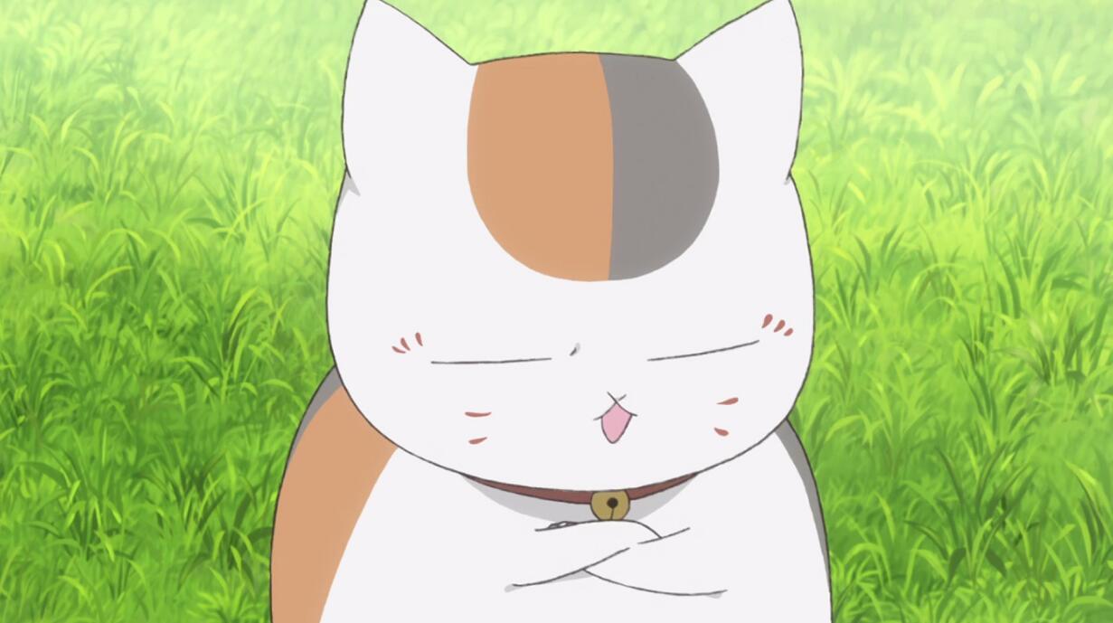 猫咪老师高清桌面_夏目友人帐:猫咪老师精美壁纸,喜欢这样的娘口三三吗?