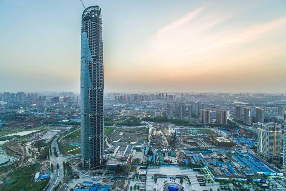 50亿建武汉第一高楼,华中地区无人争锋,但即将地位不保