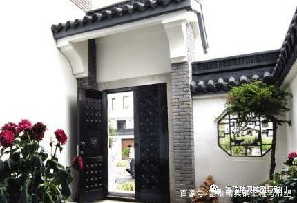庭院门,铜门,中式,门,院子门