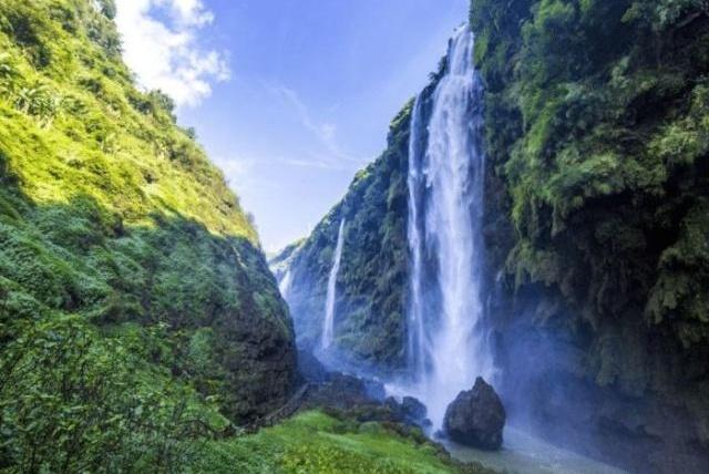 """贵州这一瀑布被""""忽视"""",比之黄果树大瀑布都不逊色,却没有名气"""