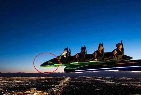 高286米的过山车,仅长8米,体验过的人不想再尝试第二次!
