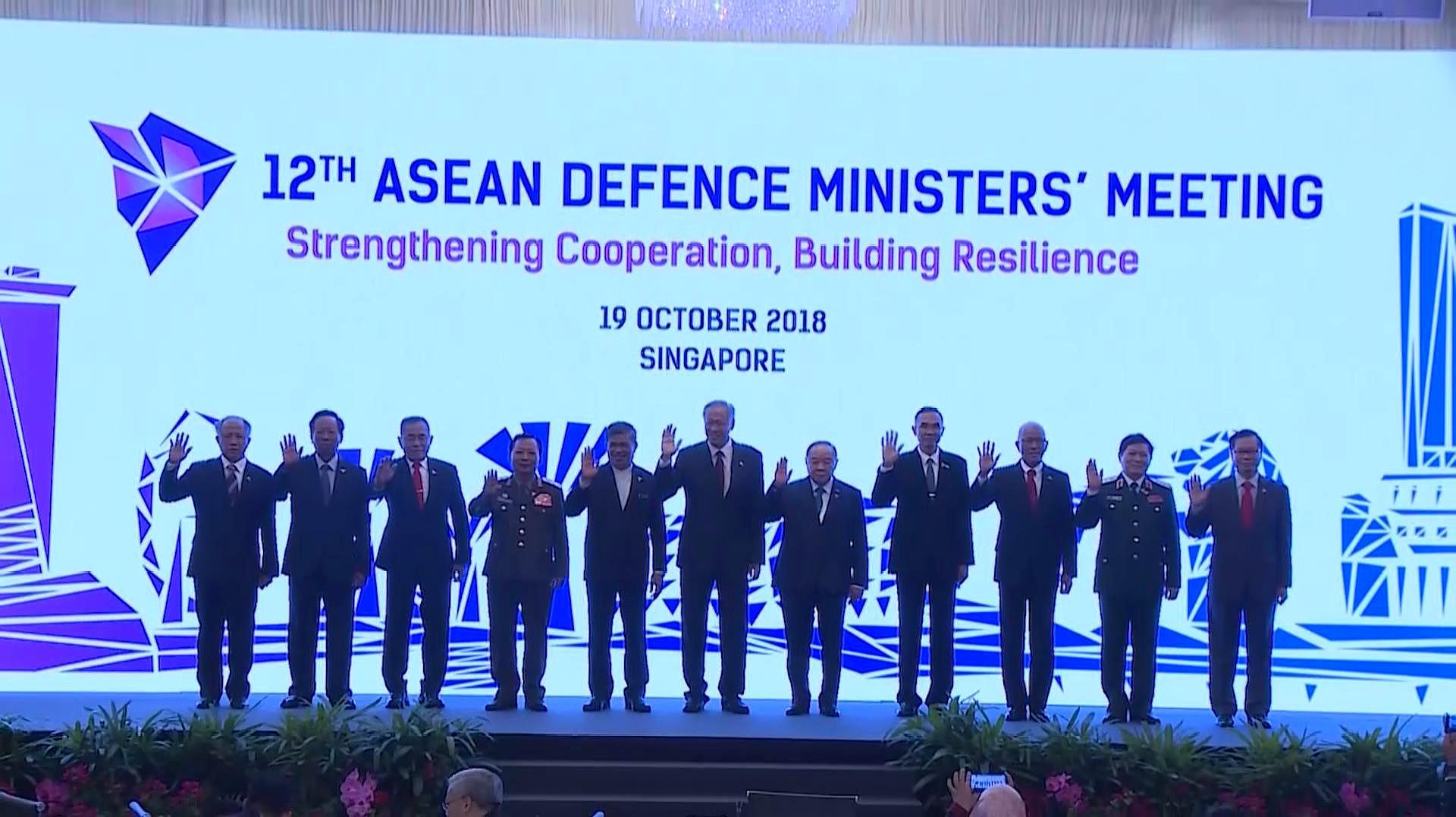 中国东盟首次海上演习将举行 东盟筹划与美明年联演