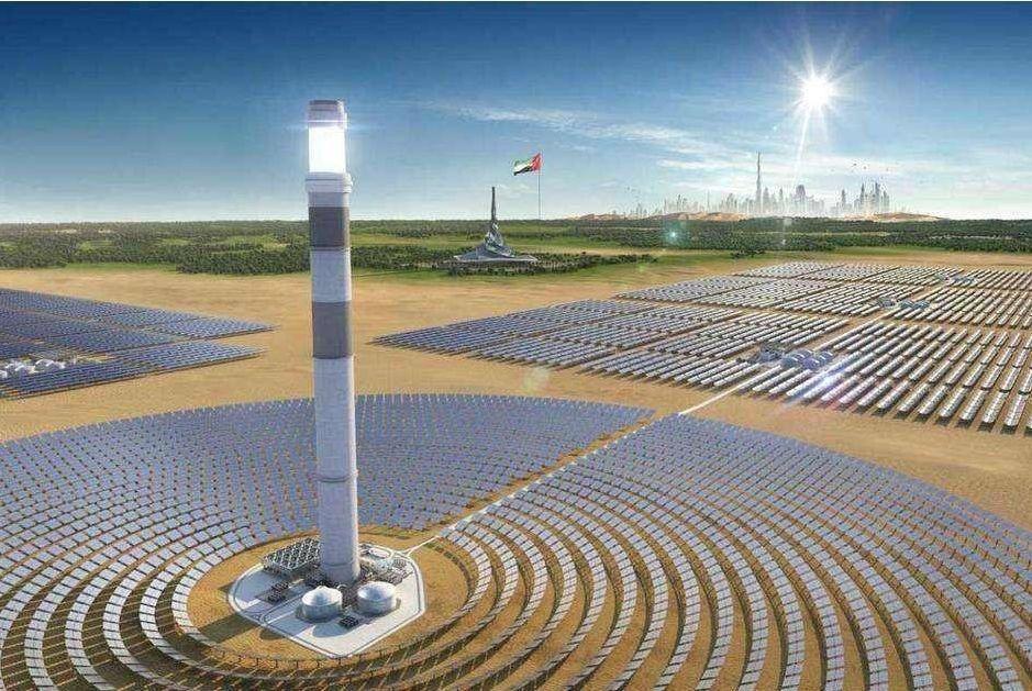 5家中资银行投资,迪拜将建世界最高太阳能塔!