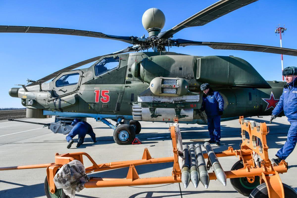 火力十足可媲美阿帕奇,俄罗斯米-28n直升机的外形是