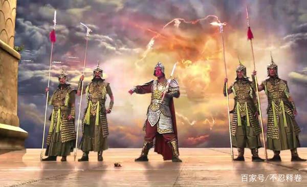 四大金刚为何对孙悟空不客气?看看他们镇守的山头,原来有过节图片