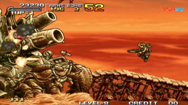 合金弹头3 火箭炮还是很厉害啊一炮一个大螃蟹