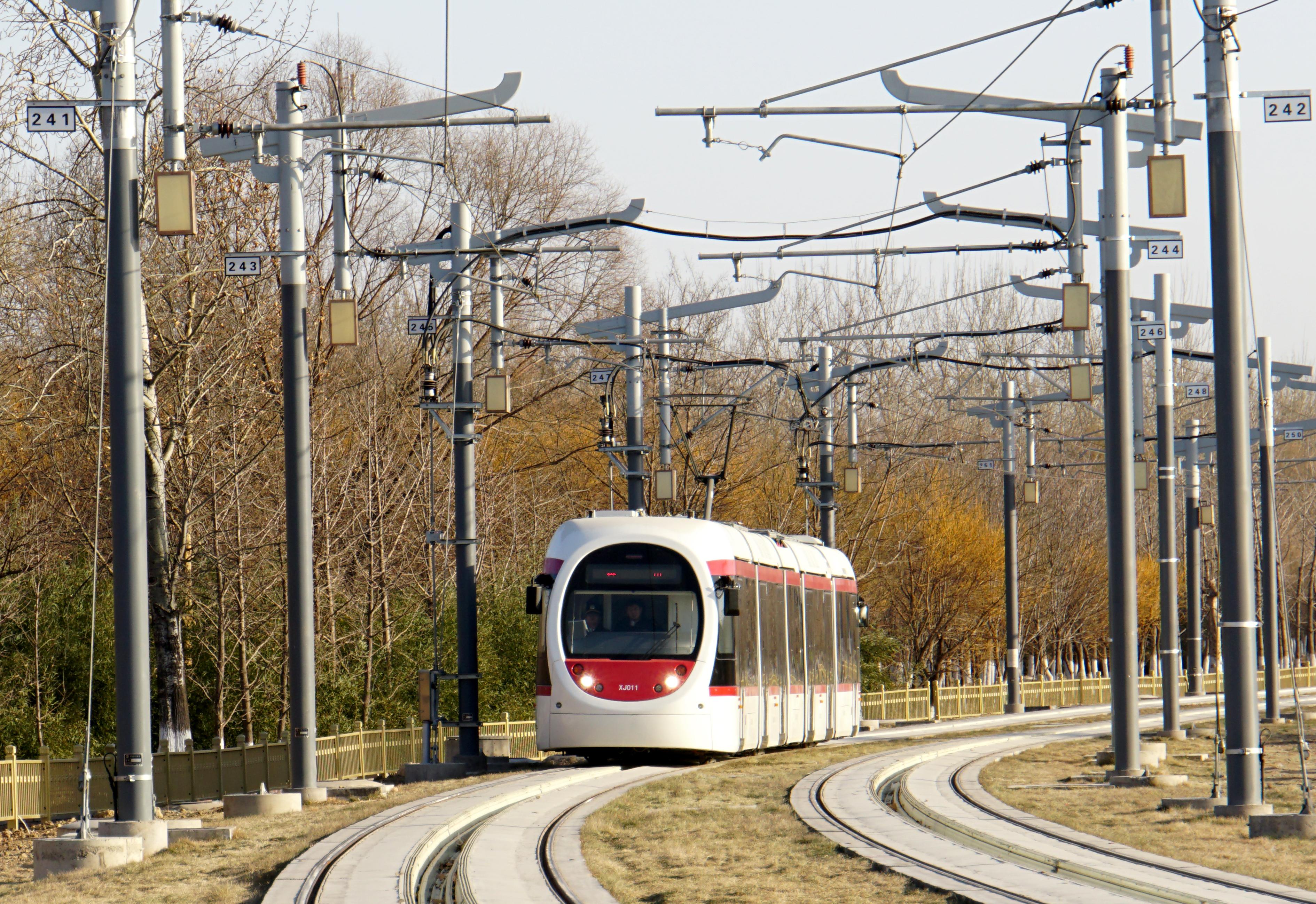 亦庄首条现代有轨电车线年底通车,同时实现5G全域覆盖
