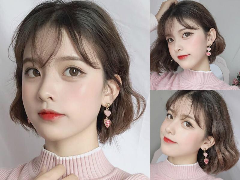 2019年流行的女生短发发型,又甜又美,最主要还减龄图片