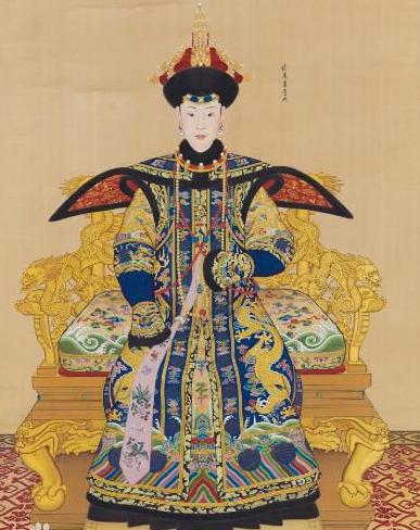 乾隆的妃子到底长相如何?富察皇后要逊色于她,画像就卖到1.37亿图片