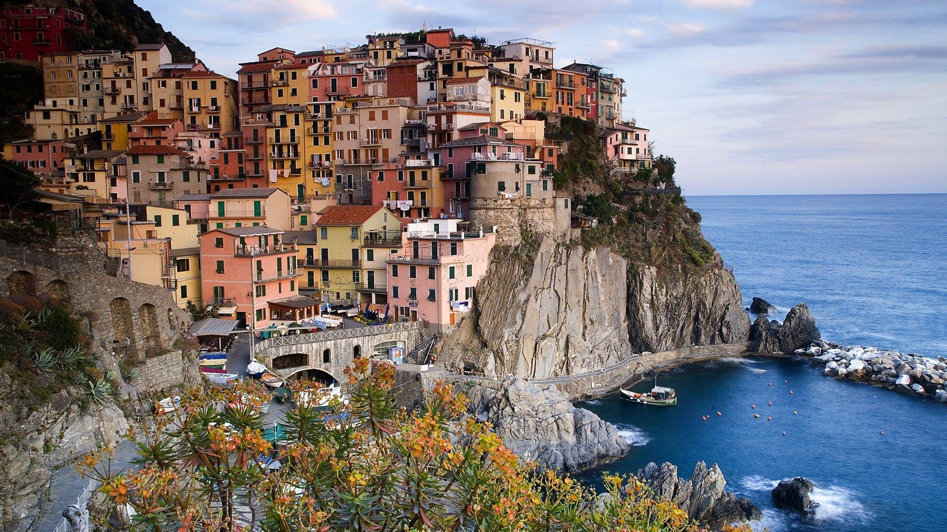 意大利风景超清笔记本电脑桌面壁纸,分辨率为1920x1080图片