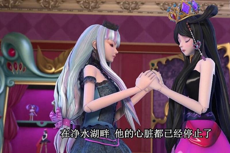 叶罗丽:罗丽的爱心魔法救过很多人,她能解毒也能让人复活