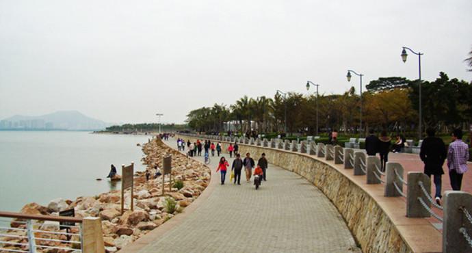 深圳红树林公园门票_深圳红树林自然保护区,宁波日湖公园……细数那些景色