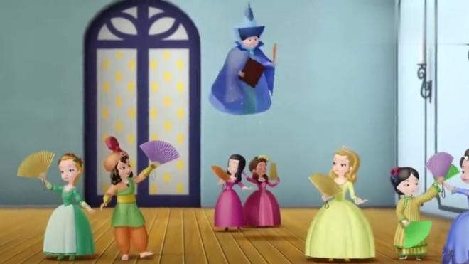 小公主苏菲亚:考核开始大家都非常紧张