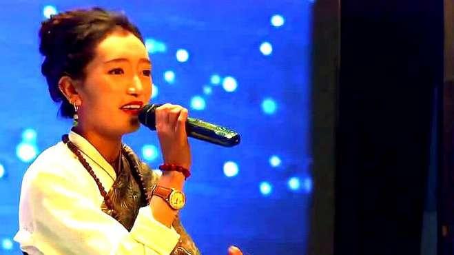 天籁藏歌:让旺拉姆《姑娘的心声》现场版,声音清澈透明