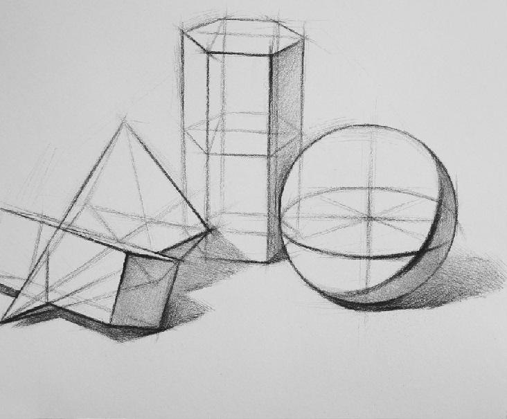 既然结构素描那么重要,那么初学者应该怎么画?