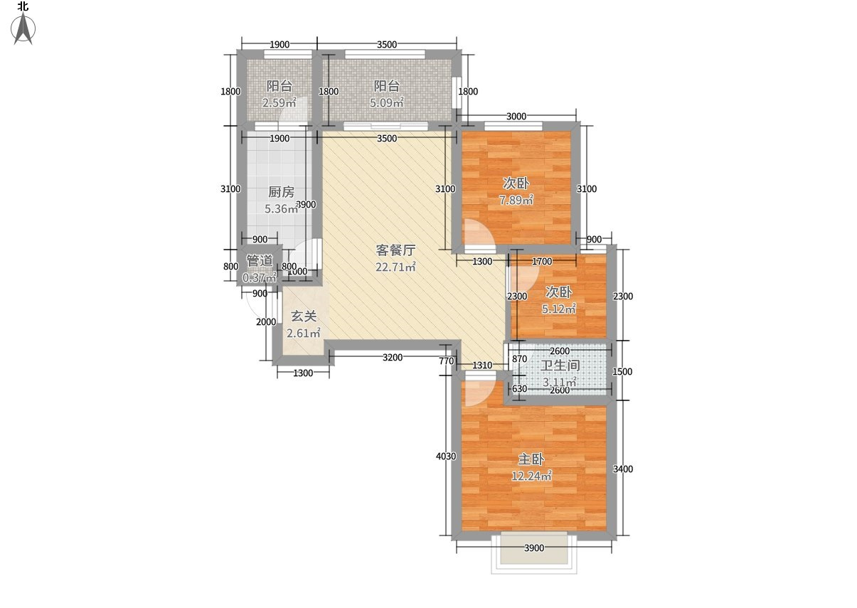 6平米的房子好不好?简约风格装修案例!-山投