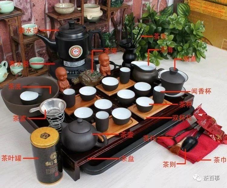 茶具太多分不清?图解各种茶具的功能