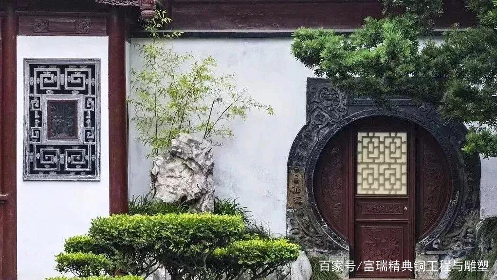 庭院门,院子门,铜门