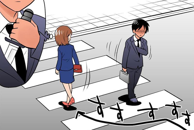 漫画:画师笔下的被害妄想症,生活处处皆危机,挺过每天真不容易