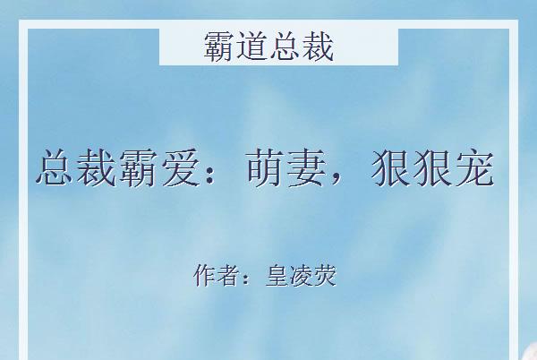 5本霸道总裁小说:唐语漫若有所思的皱了皱眉,不再说什么