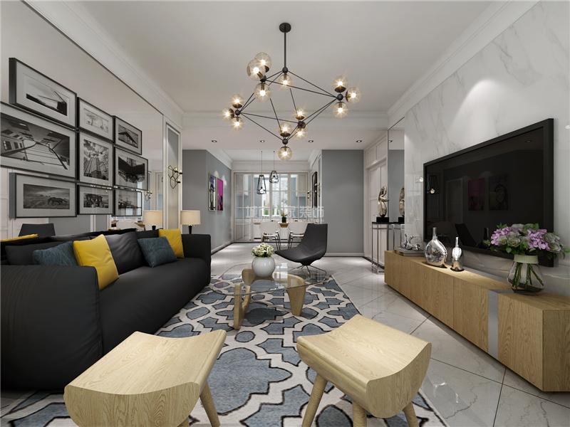 客厅是我们日常生活中带人接客的主要场所,所以一个端庄大气的客厅才图片
