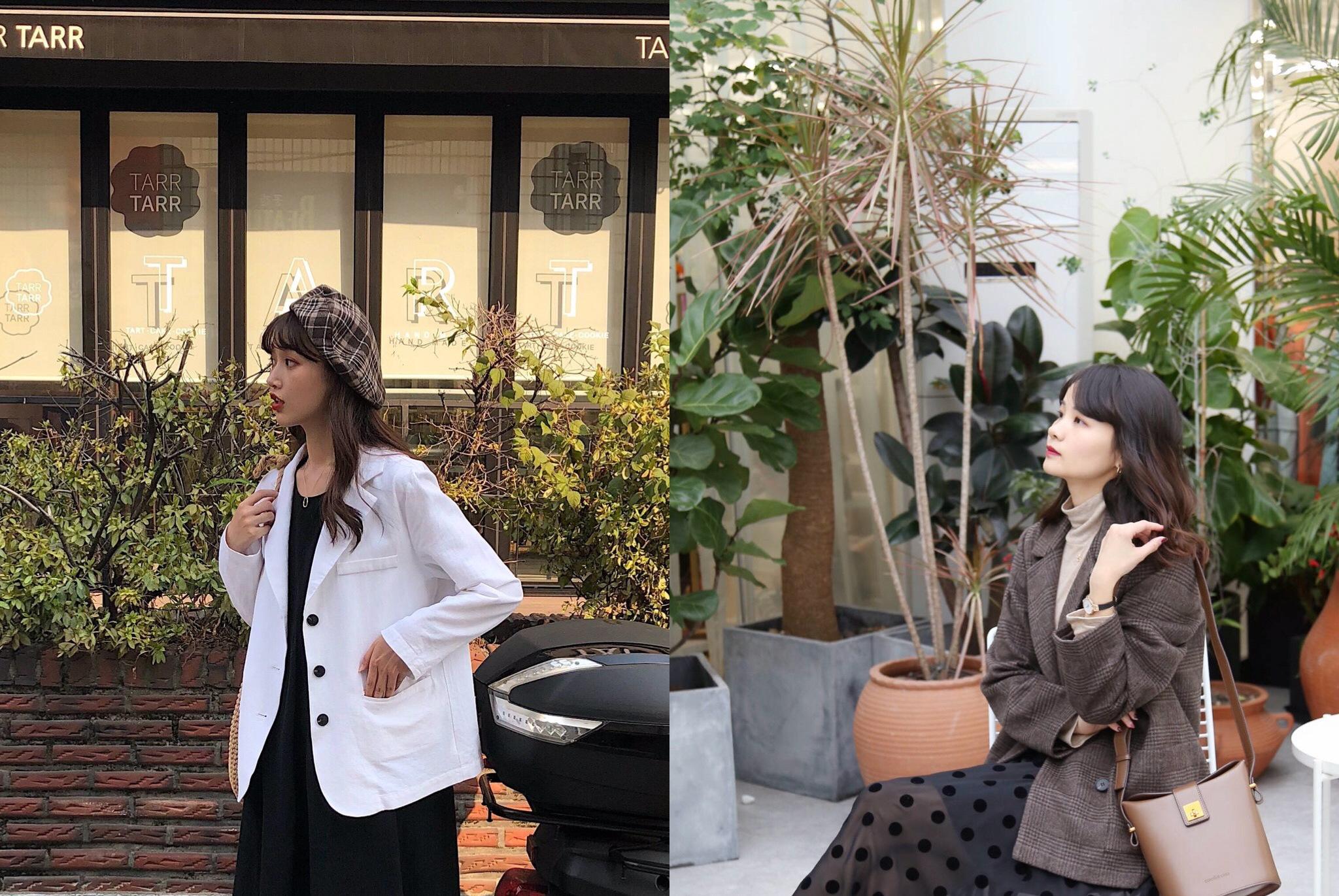小西装怎么穿才不老气?开春试试这三种穿法,气质优雅又减龄!