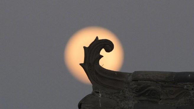 23时54分,满月最圆!你跟谁一起看?