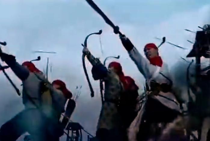两大当世猛将狭路相逢,一支箭把大明王朝从鬼门关拉了回来
