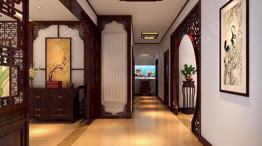 小三居中式装修,房间可以小装修必须好