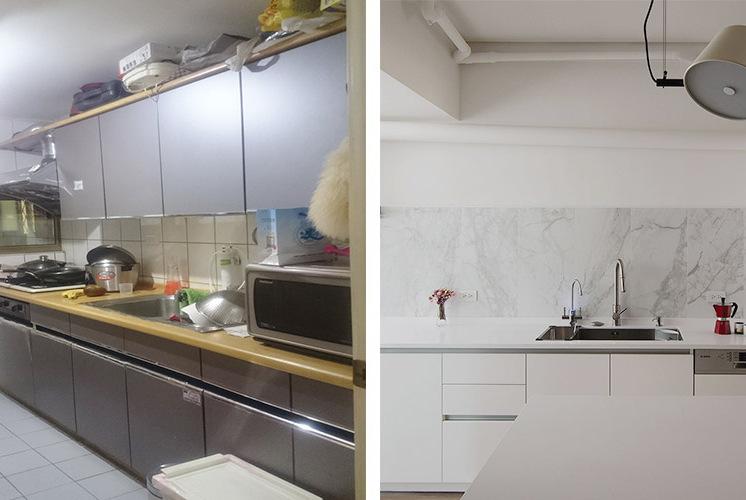 翻新40年老屋,80平米老房变美宅,宽敞,大气!