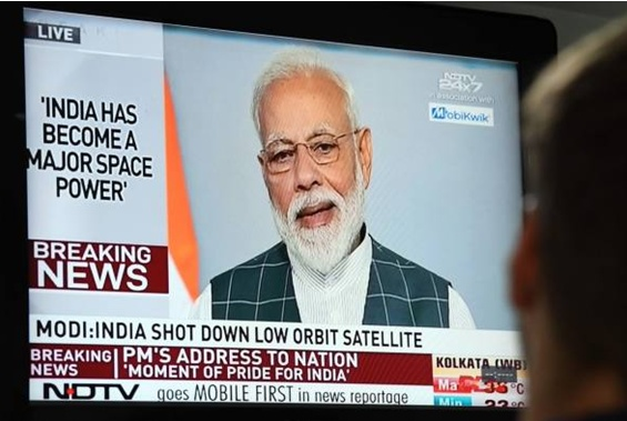 一枚导弹击中太空卫星,随后莫迪宣布重磅消息,前后言论不一致