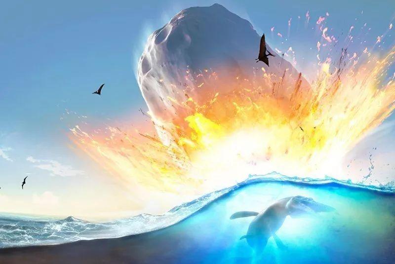 6600万年前的陨石撞击,为恐龙的灭绝奠定了基础!
