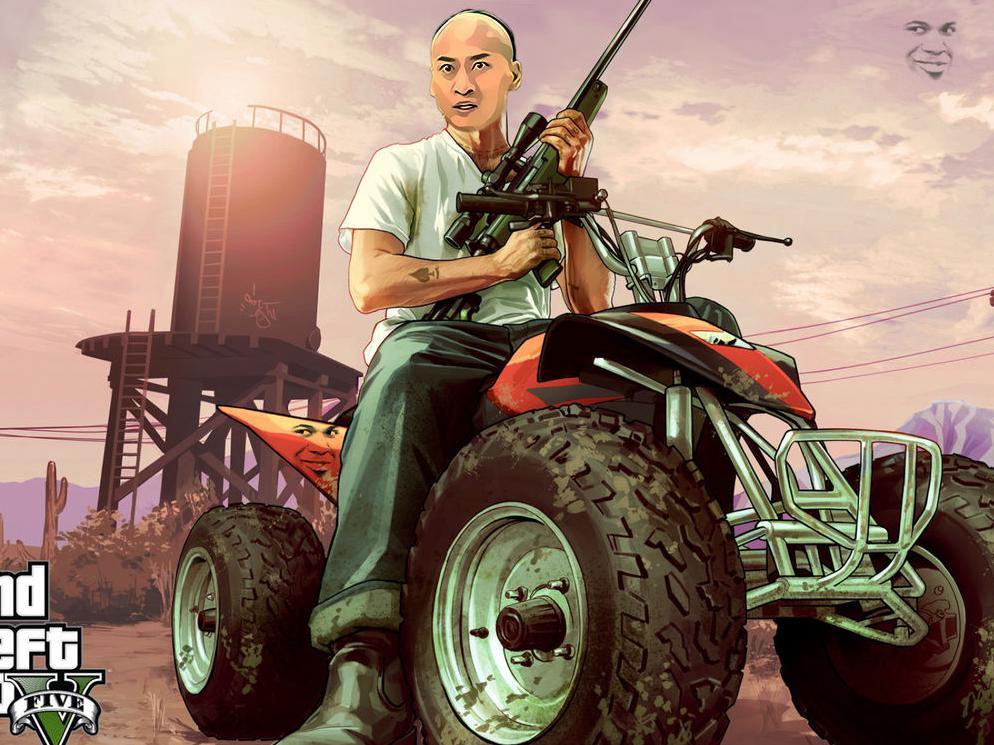 主机党荒野大镖客2爆刷网络 pc玩家携gta5沙雕表情包图片
